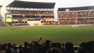 Barmy Army & Dhoni