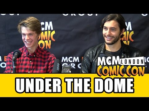 Under The Dome Colin Ford & Alexander Koch   MCM London Comic Con