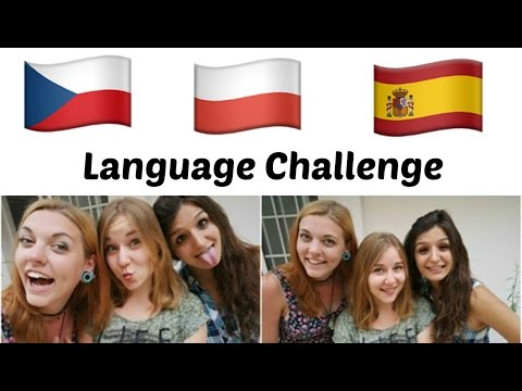 ★ Language Challenge  ★ Czech vs Spanish vs Polish
