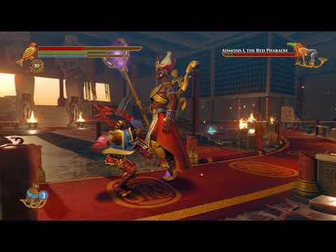Pharaonic-Ahmosis I Final Boss Battle-Master of the Thousand Lands Achievement |