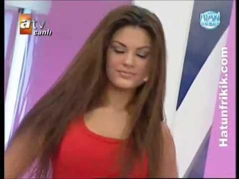 Albanian girl: Almeda Abazi, Dancing On Turkish TV Show