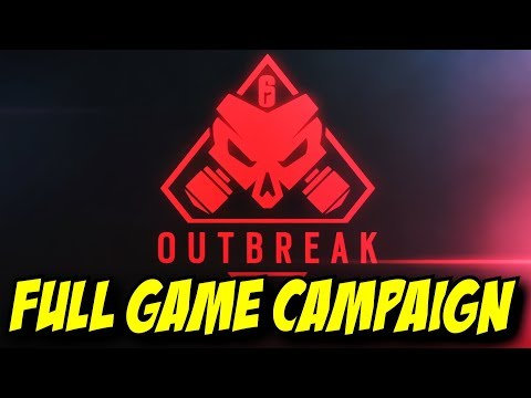 Rainbow Six Siege Outbreak Missions 1-3 Gameplay Walkthrough w/ ending mission TTS R6