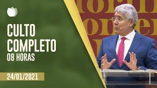 CULTO MATUTINO 8H | Rev Hernandes Dias Lopes | Igreja Presbiteriana de Pinheiros | IPP TV