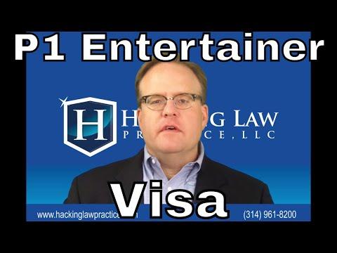 St. Louis Immigration Attorney Jim Hacking Discusses the P1 Entertainer Visa