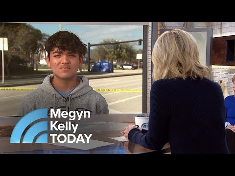 Florida Student Who Survived Shooting Describes Seeing Bodies | Megyn Kelly TODAY