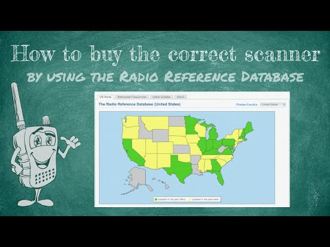 How to use the Radio Reference Database to Buy the Correct Scanner for Your Area