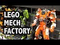 LEGO City Mech Division Headquarters   Bricks Cascade 2018