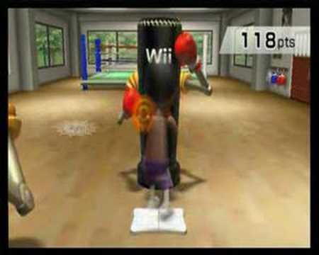 Wii Fit: Aerobic Exercises - Rythm Boxing
