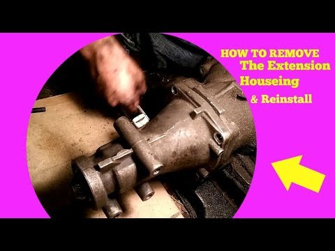 How To Remove Your Extension Housing & Install On Your Transmission