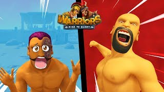 Warriors: Rise to Glory! Неудержимый Жека наказывает ЮТУБЕРОВ! МЕГА ЗАРУБА #warriorsRTG