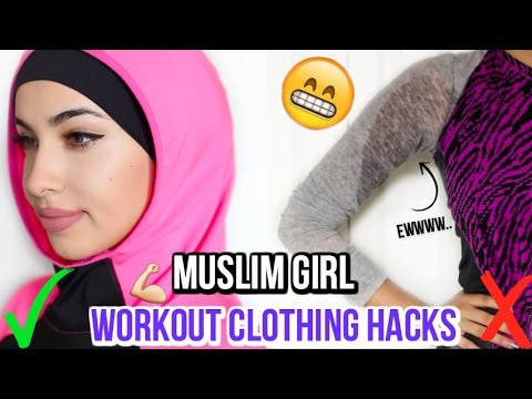 10 Muslim Girl Workout Clothing Hacks | Daniela M Biah