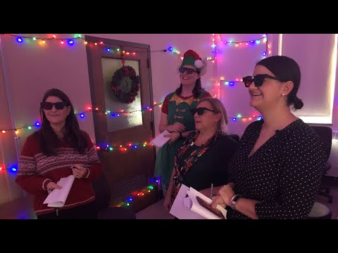 6259b0d7ca1 Ohio State Optometry Clinic Consult Rooms Holiday Decorations