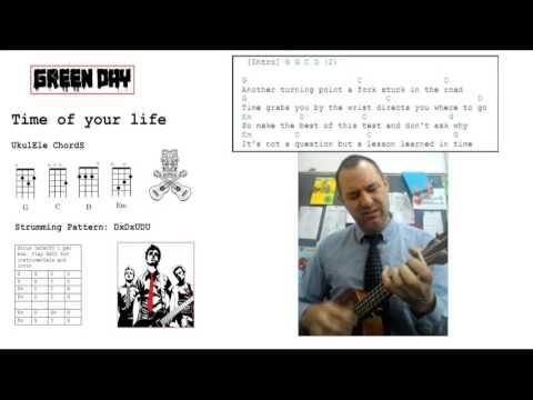 The Time Of Your Life Ukulele Tutorial Youtube