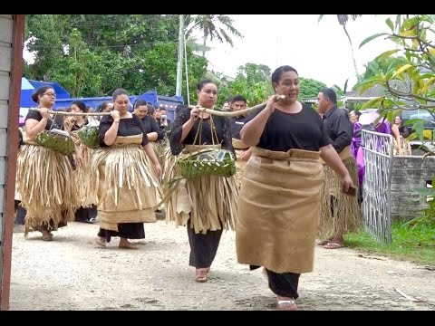 Ha'amo - Hon. Lupepau'u - Royal Mourning Presentation - Mahinafekite, Royal Palace & Mapu-'a-Fuiva