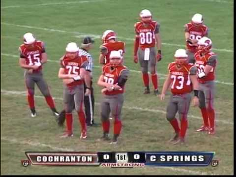 Cambridge Springs vs Cochranton-High School Football