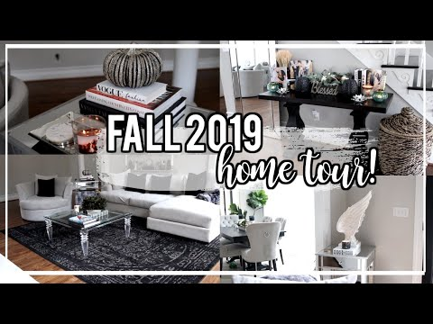 FALL Decorating! 2019 Home Tour + Bath & Body Works Candle Haul! NitraaB