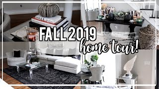 Fall Decorating! 2019 Home Tour   Bath & Body Works Candle Haul! Nitraab