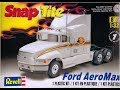 How to Build the Ford AeroMax 1:32 Scale Revell Model Kit #85-1975 Review