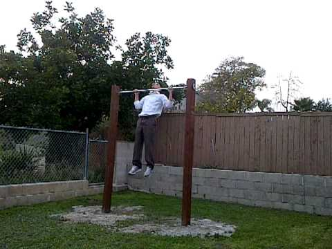 Merveilleux First Set On My New Home Made Outdoor Pull Up Bar!!!