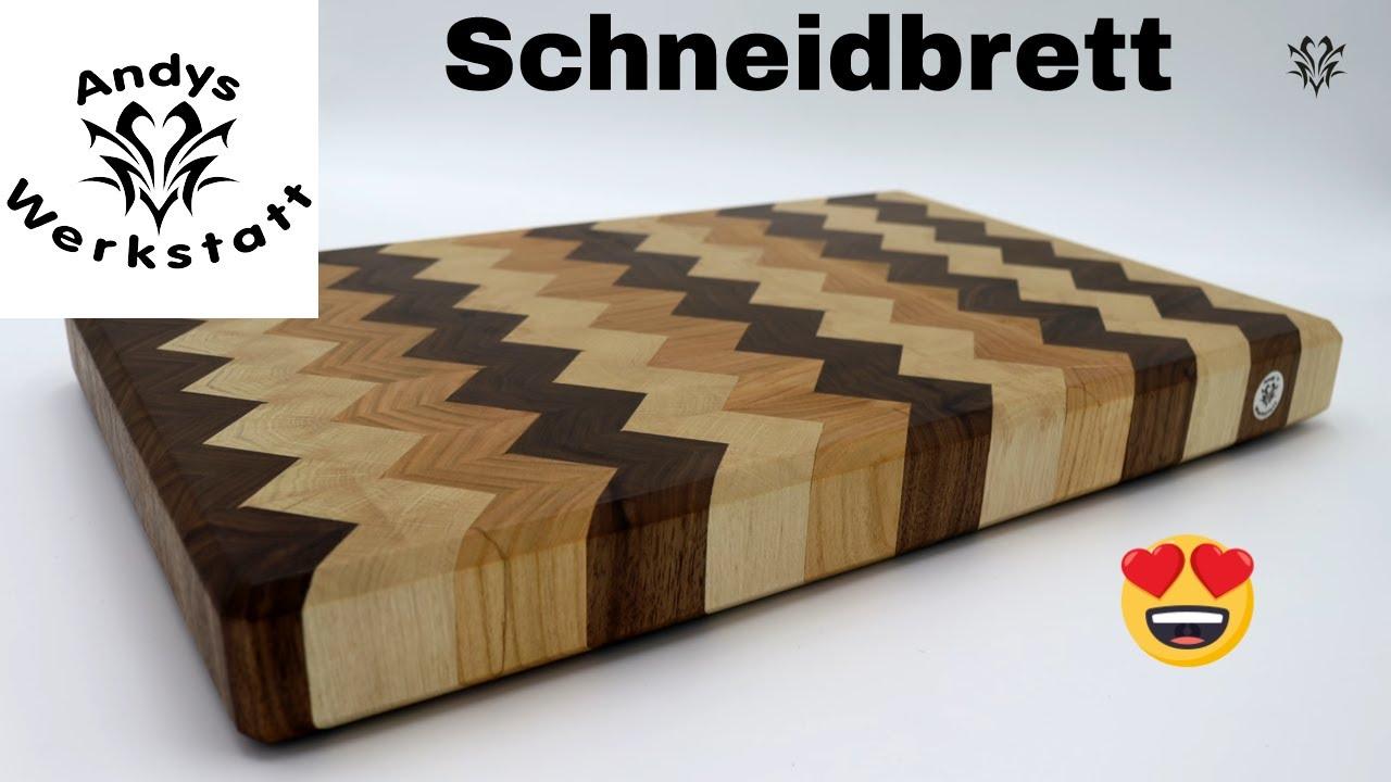 Schneidebrett Selber Machen / Nussbaum, Kirsche, Weißbuche