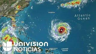 EN VIVO: El poderoso huracán Florence avanza hacia Estados Unidos