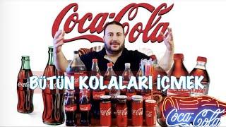 Coca Cola'nın tüm  Kolalarını İçmek - Drinking All the coca cola products  coca cola mugbank