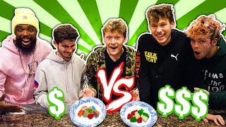 YOUTUBERS GUESS CHEAP vs. EXPENSIVE CANDIES!