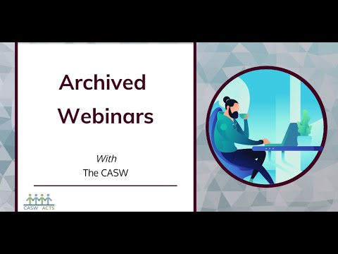 Ethics in Social Work Webinar Series: Part 1 - What are ethics and why do values matter?