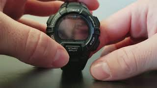 How to Set Up the Occasion Feature on a TIMEX IRONMAN Watch.