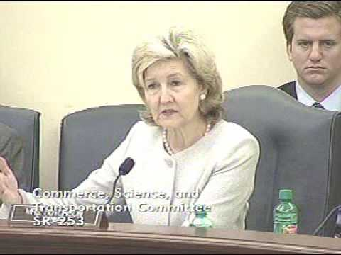Sen. Hutchison Speaks at Commerce Committee Hearing Regarding Weather Modification