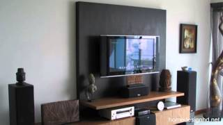 How To Decorate Around Your Flat Screen Television [hd]