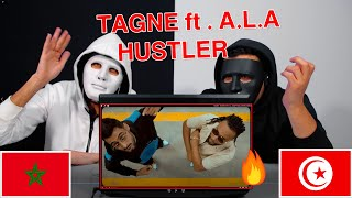 TAGNE - HUSTLER ft. A.L.A / Egyptian Reaction 🇹🇳 🇲🇦