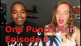 """One Punch Man Episode 6 """"The Terrifying City"""" (Reaction 🔥)"""
