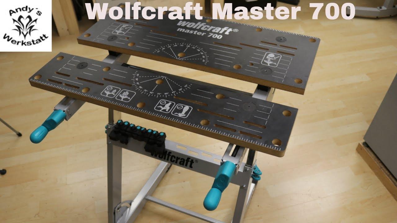wolfcraft master 700 - spanntisch / arbeitstisch - erste eindücke