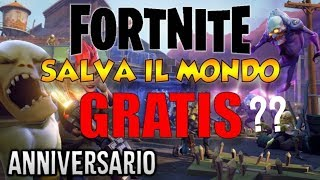 FORTNITE ANNIVERSARIO! NEW MODE NEW BUS and SAVE the FREE WORLD?