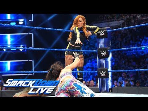 Becky Lynch \u0026 Bayley vs. Charlotte Flair \u0026 Lacey Evans: SmackDown LIVE, May 21, 2019