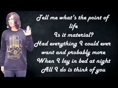 Sleeping With Sirens - Alone featuring MGK (Lyrics)