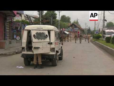 Clashes after Kashmir rebels shot by police