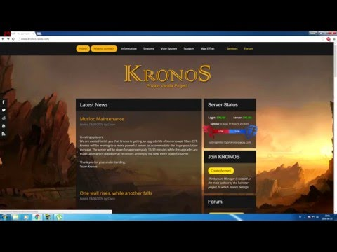How to download and connect to kronos wow - YouTube