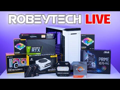 How To Build a PC – Giveaways + Custom Build Ryzen 9 3900x /2080Ti in Phanteks P600s