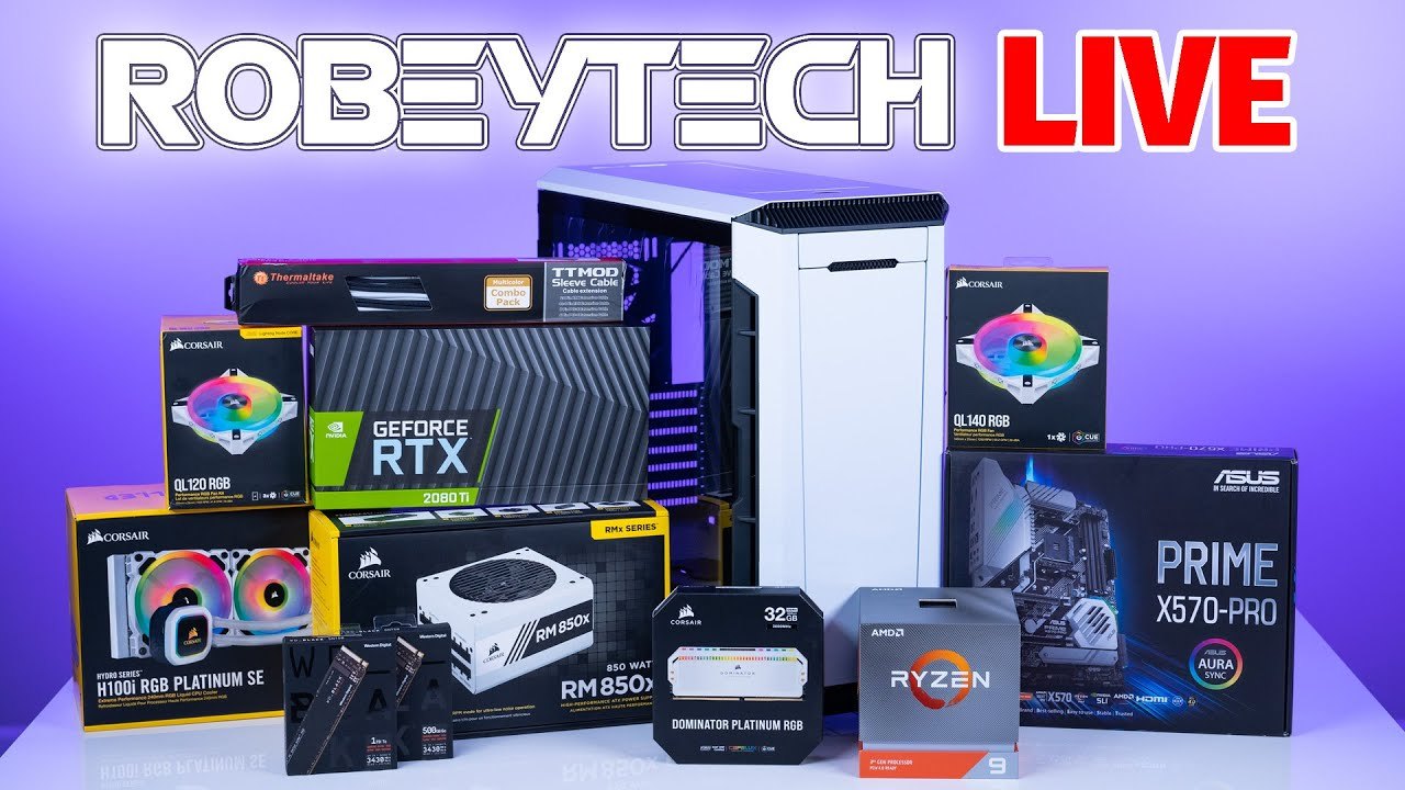 Download How To Build a PC - Giveaways + Custom Build Ryzen 9 3900x /2080Ti in Phanteks P600s