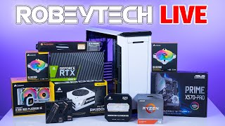 How To Build a PC - Giveaways + Custom Build Ryzen 9 3900x /2080Ti in Phanteks P600s | Robeytech
