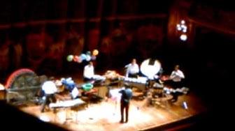 Academia ISA en el Teatro Colón - Percusión