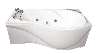 Виде обзор акриловой ванны Titon Мишель