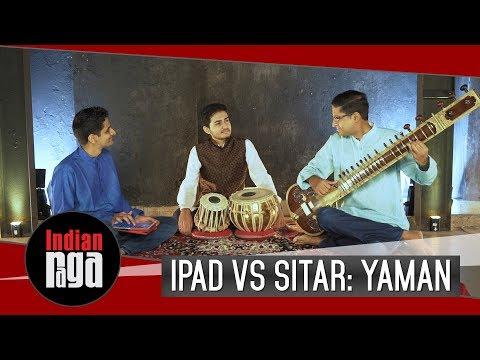 ipad-vs-sitar:-yaman-|-best-of-indian-classical-music