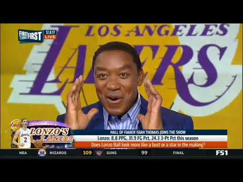 Isiah Thomas talk about Lonzo Ball