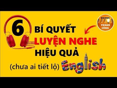 Cách Luyện Nghe Tiếng Anh Hiệu Quả (chưa ai tiết lộ)!