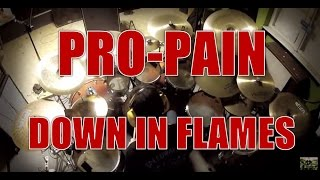 PRO-PAIN - Down in flames - drum cover (HD)
