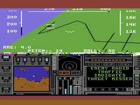 Project: Stealth Fighter - C64