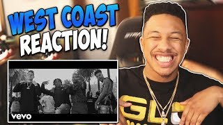 G-Eazy, Blueface - West Coast (Official Video) ft. ALLBLACK, YG Reaction Video